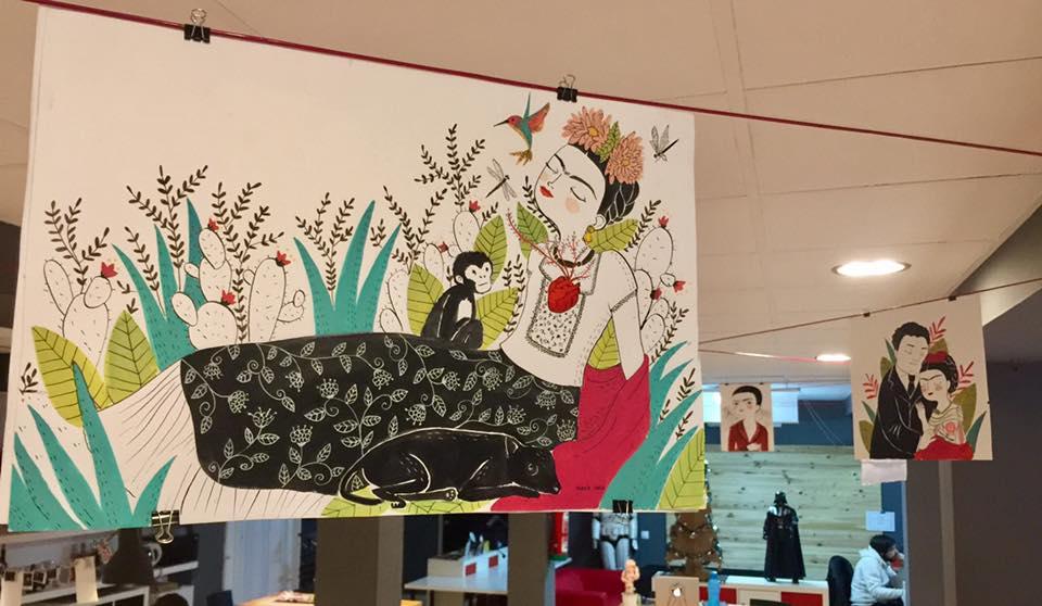 Exposición de originales de 'Frida' de María Hesse