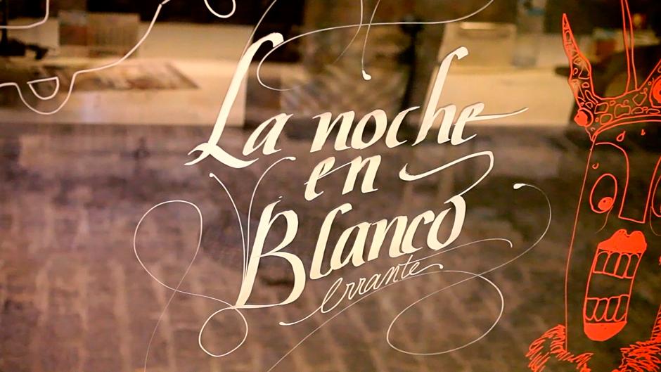 """Una Noche en Blanco """"ilustrada"""" en erranT espacio cowork"""