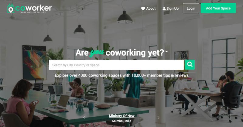 Plataforma coworker.com